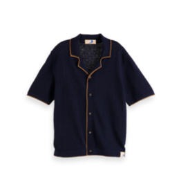 Scotch&Soda Shrunk SS21 161932 Knitted polo