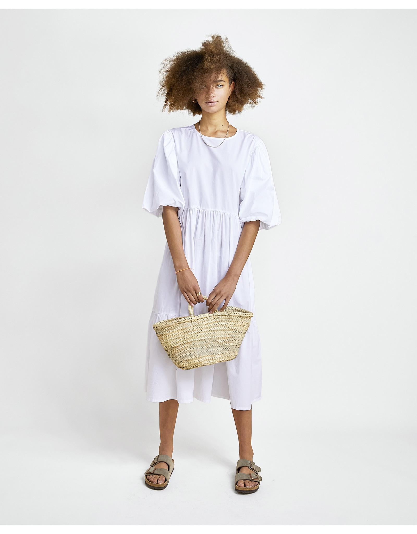 Les Coyotes de Paris LCDP SS21 Billie white dress