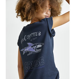 Les Coyotes de Paris LCDP SS21 Cindy washed black tee