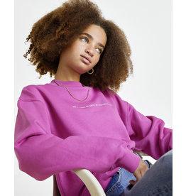 Les Coyotes de Paris LCDP SS21 Ross retro pink sweater
