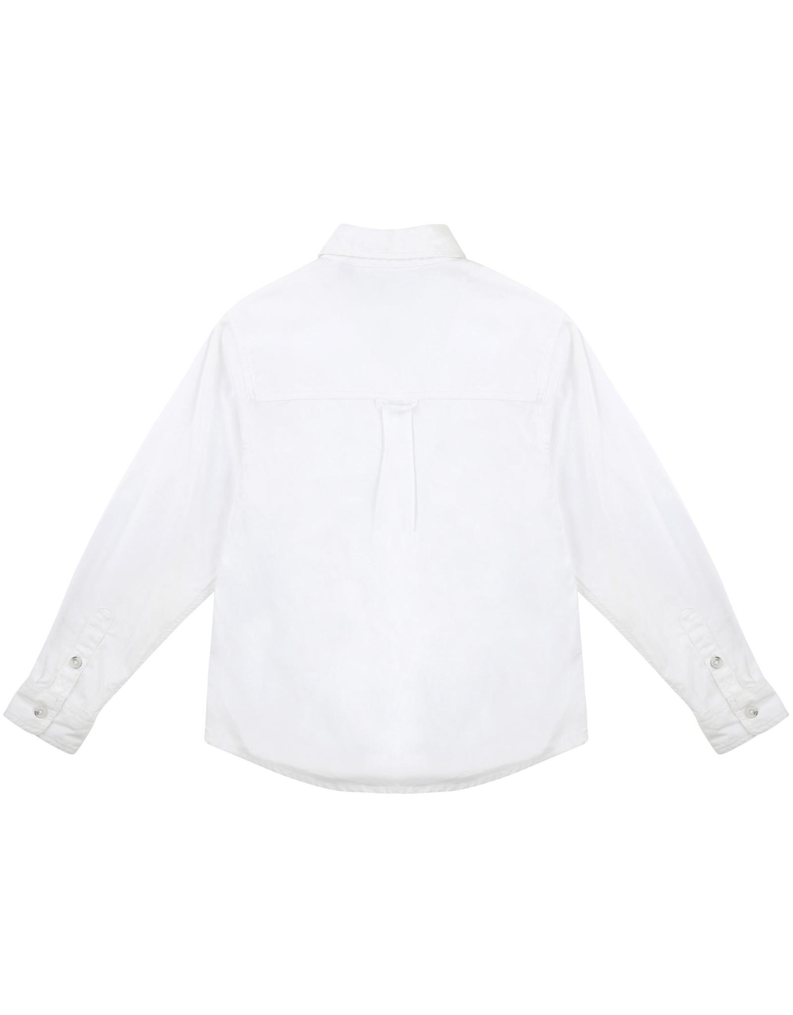 Timberland SS21 T25S23 wit hemd