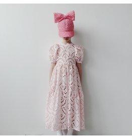 Caroline Bosmans CRLNBSMNS SS21 long broderie dress