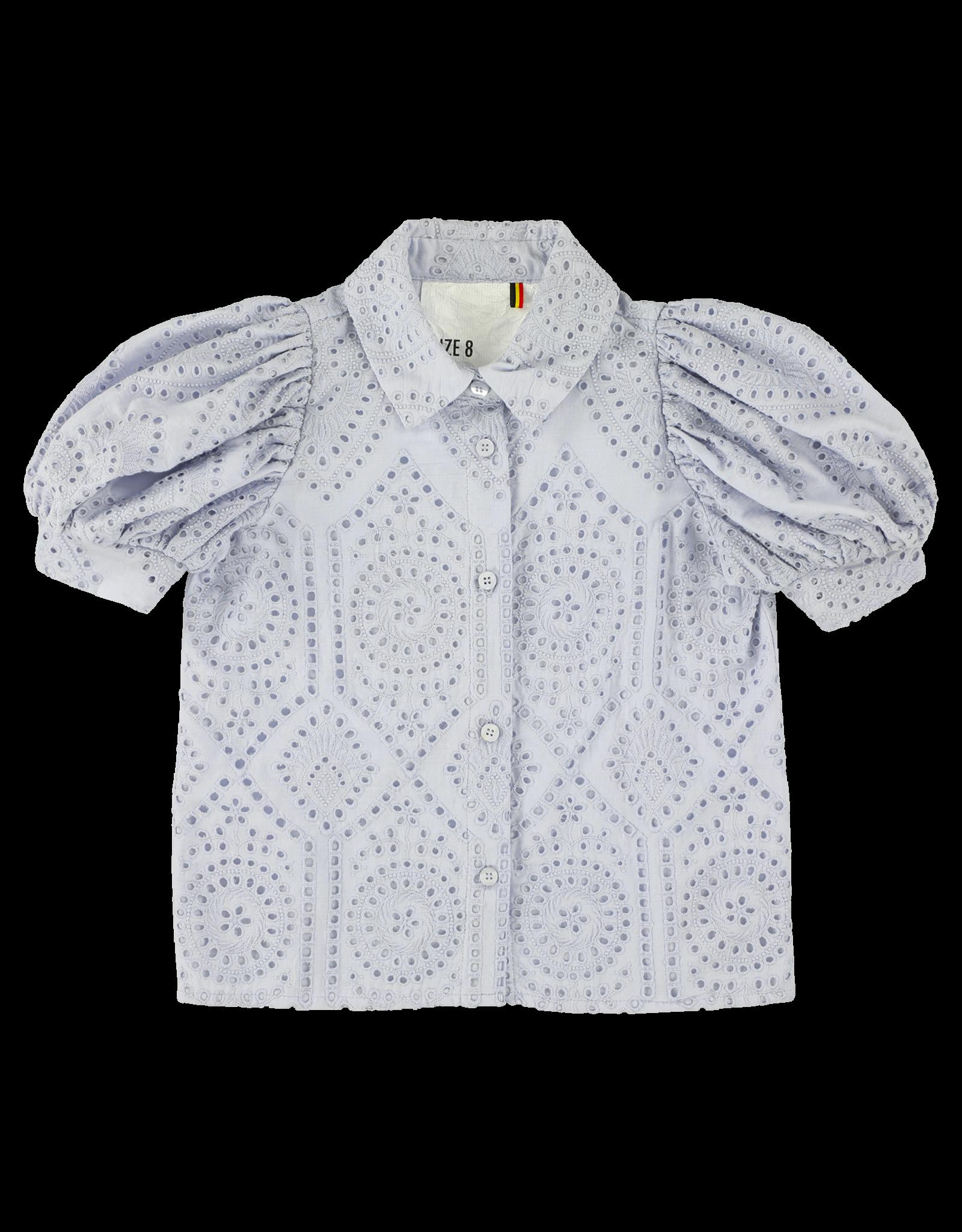Caroline Bosmans CRLNBSMNS SS21 Puff sleeved shirt