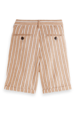 Scotch&Soda Shrunk SS21 161009 short linen stripe