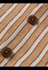 Scotch&Soda Shrunk SS21 160980 gilet linen stripe
