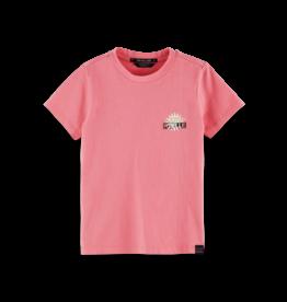 Scotch&Soda R'belle SS tee pink