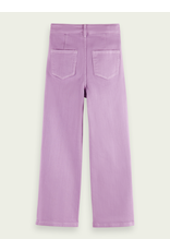 Scotch&Soda R'belle SS21 161227 wide leg pants lavender