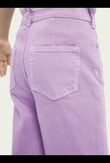 Scotch&Soda R'belle SS21 161227 wide leg pants lavender
