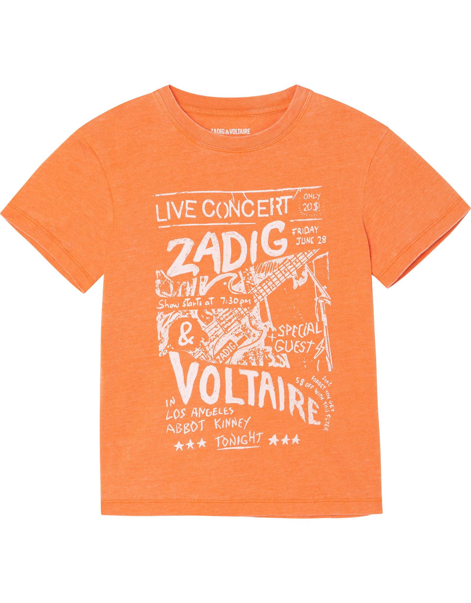 Zadig&Voltaire Z&V SS21 X15276 T-shirt