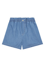 Hundred Pieces HPCS SS21  Chambray stonewashed denim shorts