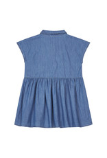 Hundred Pieces HPCS SS21  Chambray stonewashed denim dress