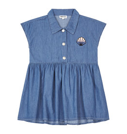 Hundred Pieces Chambray stonewashed denim dress