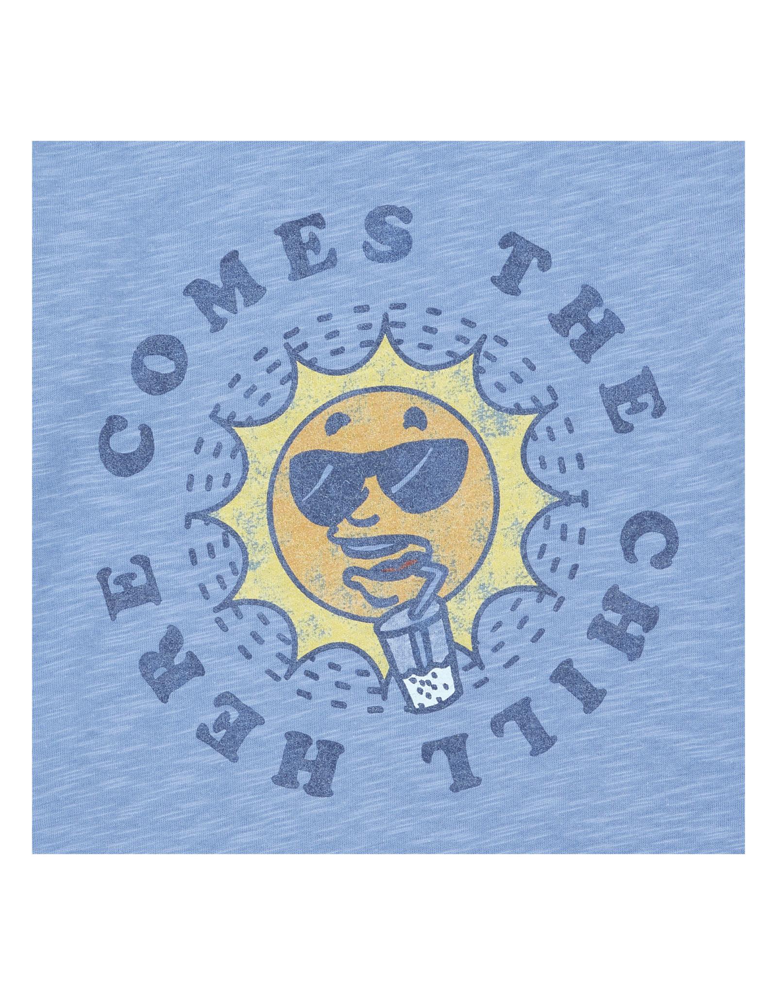 Hundred Pieces HPCS SS21 chill t-shirt blue