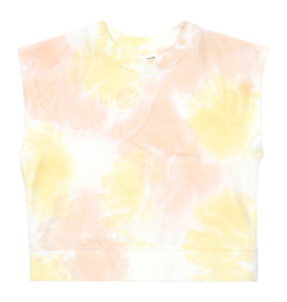 Hundred Pieces Sweat Tie Dye coton bio candy pink