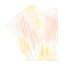 Hundred Pieces Organic cotton tie dye dress pink