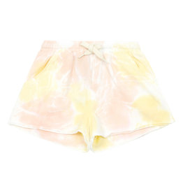 Hundred Pieces Organic Cotton tie dye shorts candy pink Hundred Pieces