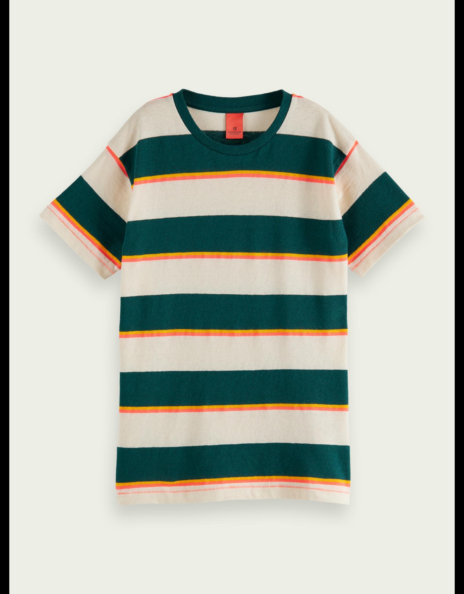 Scotch&Soda Shrunk SS21 161127 striped shirt