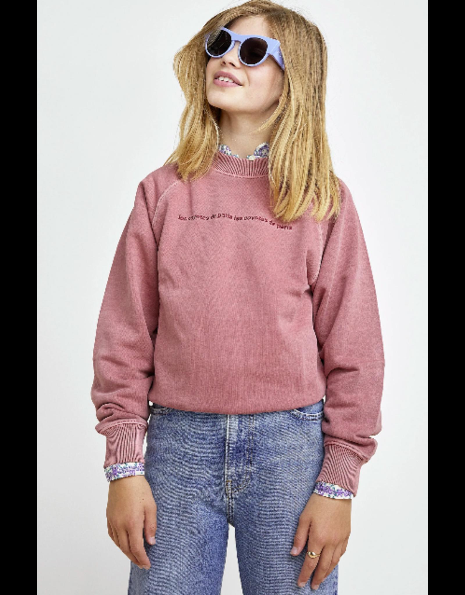 Les Coyotes de Paris LCDP SS21 Milou sweater vieux rose