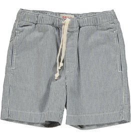 Maan Letter navy shorts