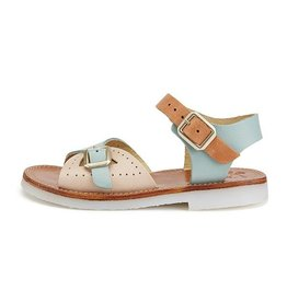 Young Soles Pearl sandal pale multi block