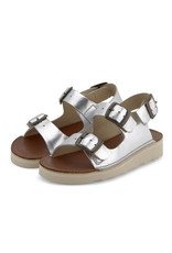 Young Soles Spike silver sandal