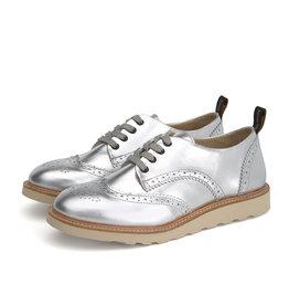Young Soles Brando silver shoe
