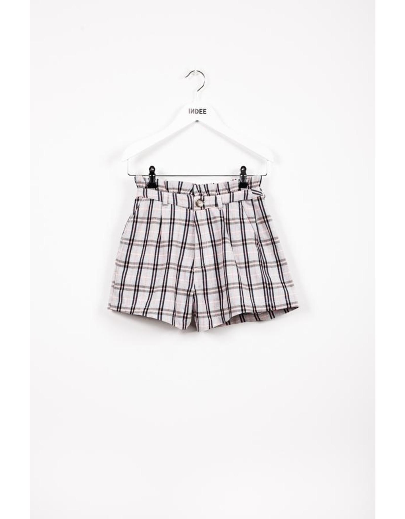 IND SS21 Journal shorts black