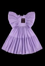 Caroline Bosmans Caroline Bosmans FW21 308 70 Long dress tafta purple
