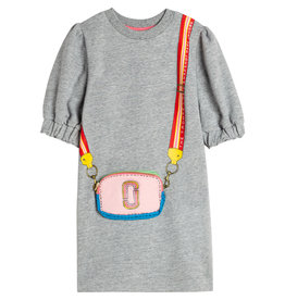 The Marc Jacobs The Marc Jacobs jurk gris chine