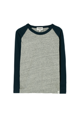Finger in the Nose Finger in the Nose FW21 Neal grey colourblock shirt