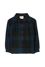 Finger in the Nose Finger in the Nose FW21 Lakeview navy checkers shirt