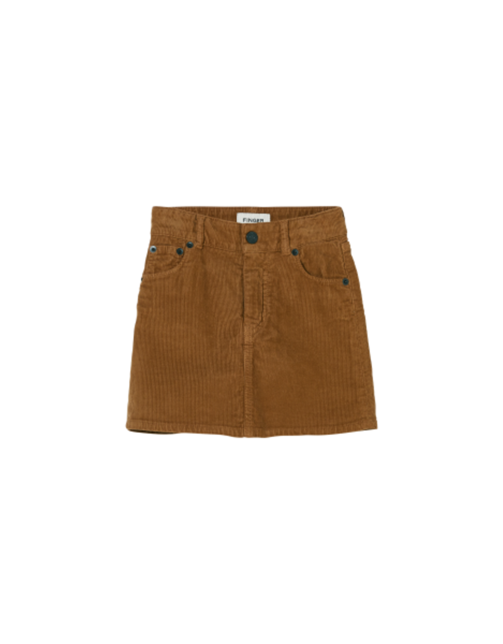 Finger in the Nose Finger in the Nose FW21 Tory tobacco cord skirt