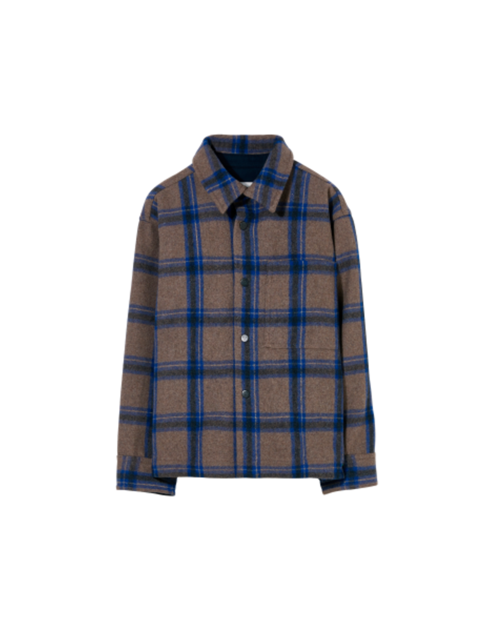 Finger in the Nose Finger in the Nose FW21 Dova grey checkers shirt