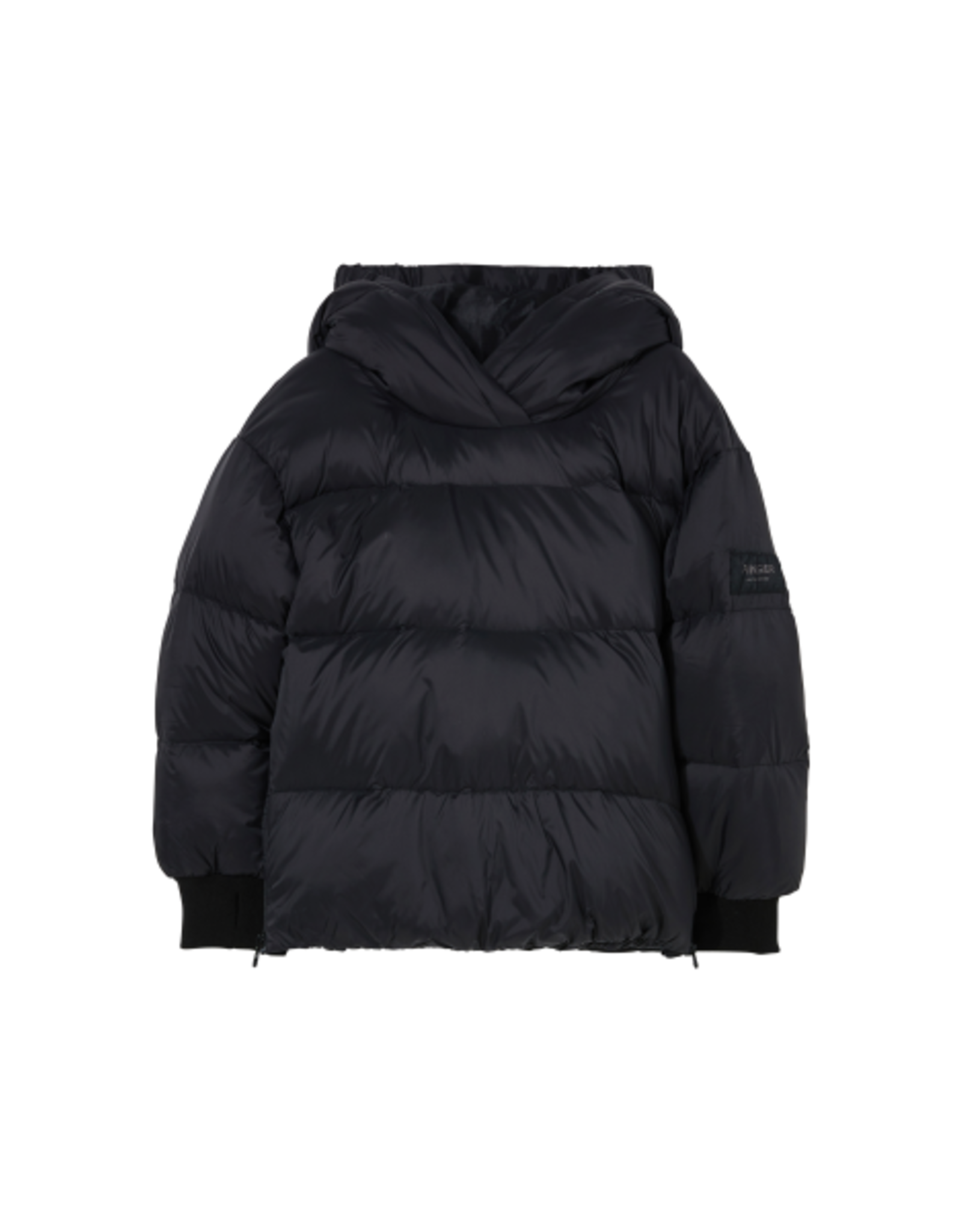 Finger in the Nose Finger in the Nose FW21 Snowsweet black jacket