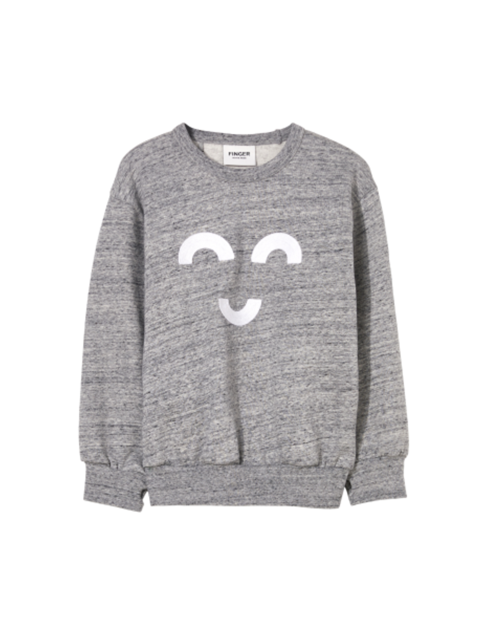 Finger in the Nose Finger in the Nose FW21 Wind grey sweater
