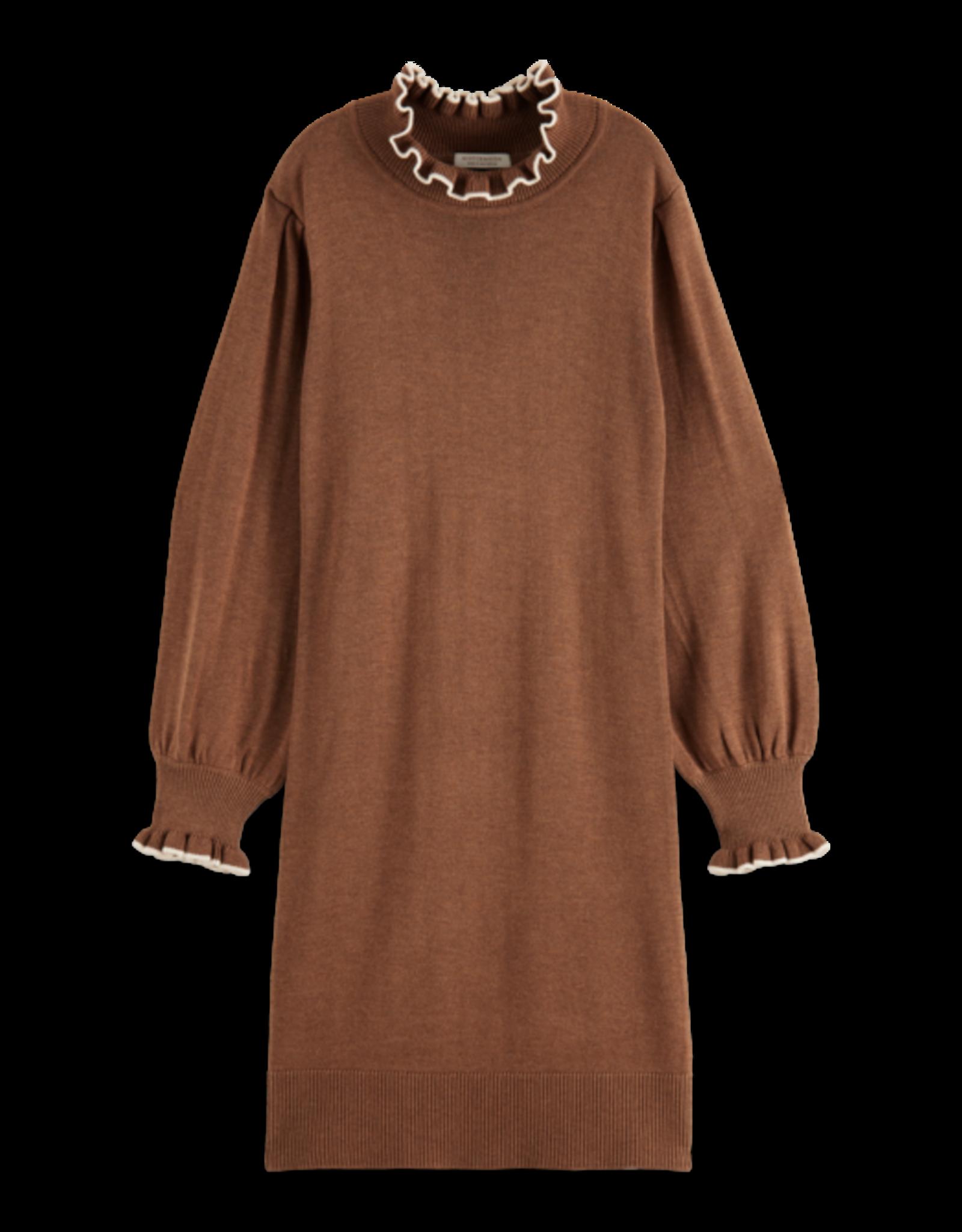 Scotch&Soda Scotch&Soda FW21 162607 Fitted knit dress