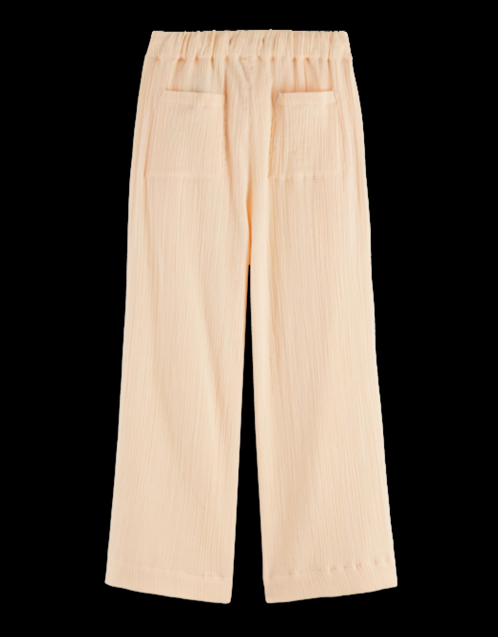Scotch&Soda Scotch&Soda SS21 161237 Cotton cropped loose fit pants