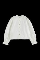 Scotch&Soda Scotch&Soda FW21 162616 white shirt