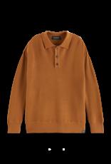 Scotch&Soda Scotch&Soda FW21 163442 knit polo pullover