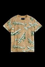 Scotch&Soda Scotch&Soda FW21 162747 printed t-shirt