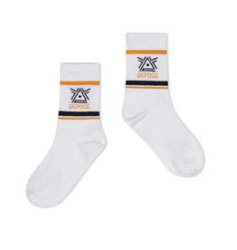 Repose Repose sporty socks white logo