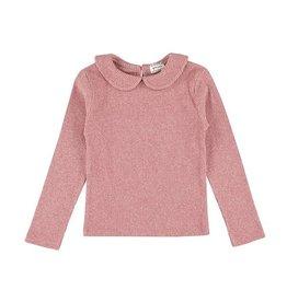 Morley Morley Ocelot Softrib pink top