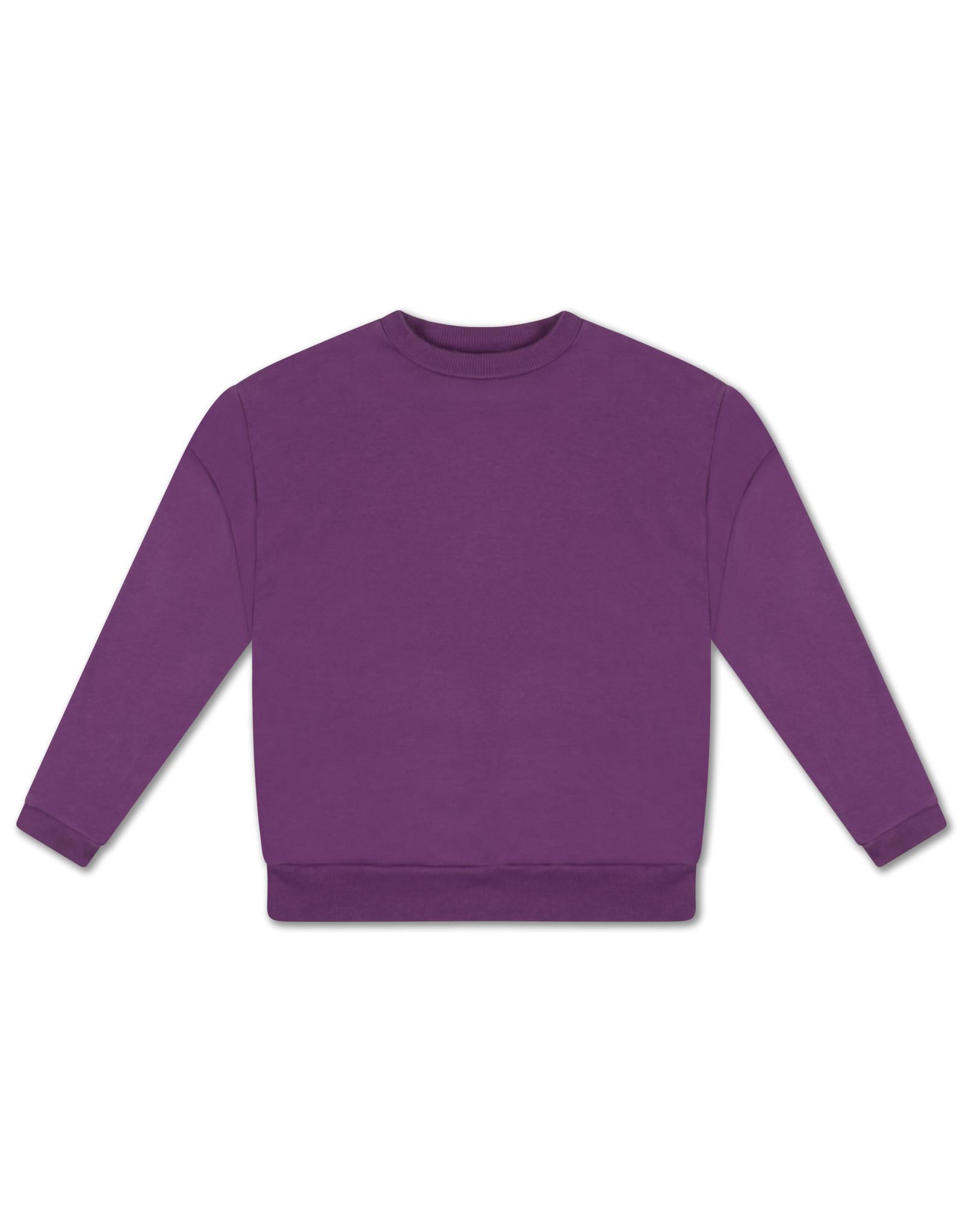 Repose Repose FW21 10 crewneck sweat purple magic