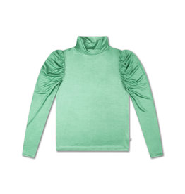 Repose Repose turtle neck green shine