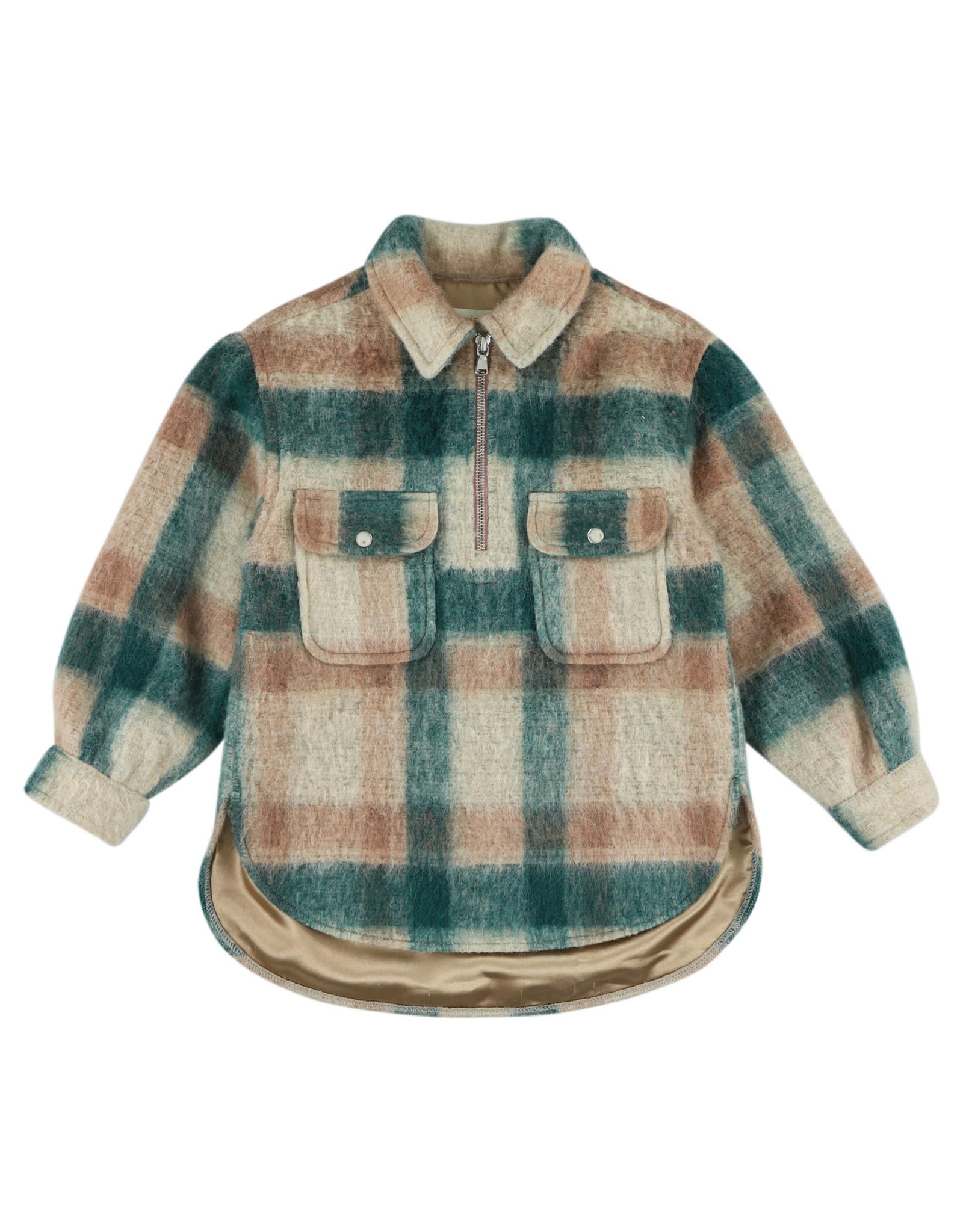 Simple Kids Scallion Vedra rose shirt