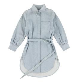 Simple Kids Wheat denim bleach dress