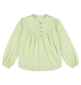 Simple Kids Salta Dobby mint shirt