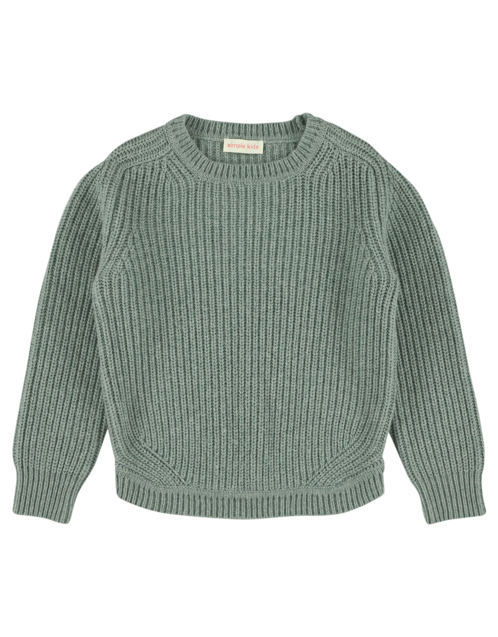 Simple Kids Nam Extrafine mint pullover