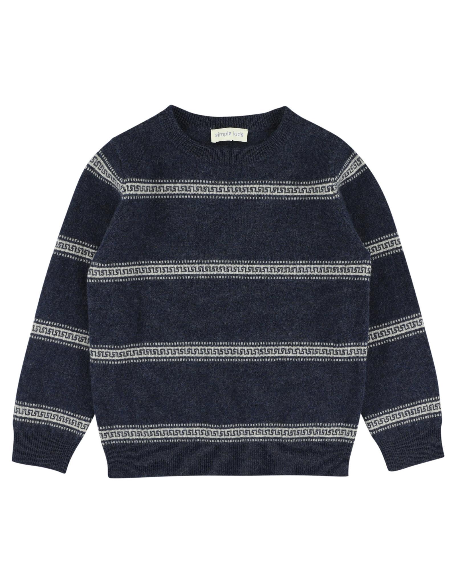 Simple Kids Carne Orla blue pullover