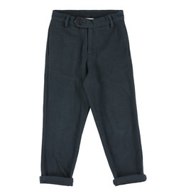 Simple Kids Veg Drill ink trousers